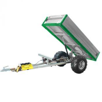 Remolque basculante hidráulico (capacidad de carga de 600 kg)