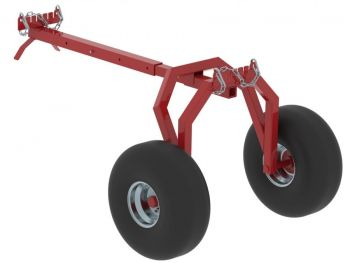 Soporte trasero transportador de troncos ATV