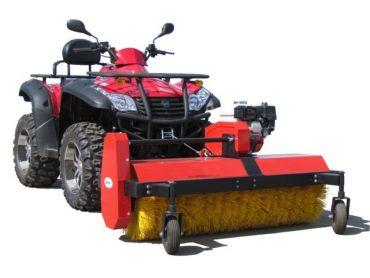 ATV cepillo rotatorio,motor 6.5 hp B&S