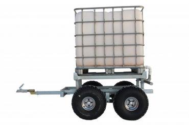 Remolque ATV para madera + KIT DE DEPÓSITO DE AGUA (1000L)