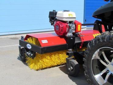 ATV cepillo rotatorio, motor 4,8 HP Honda engine