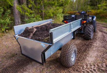 Trailer de madera ATV/Quad/Tractor