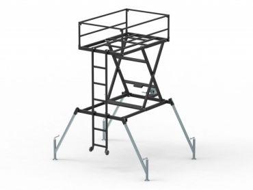 Torre de caza movible