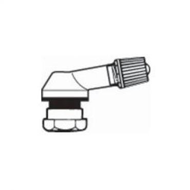 Válvulas de neumático Alu  Ø8,5mm Negro 10 piezas