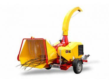 Triturador de madera XYLOCHIP 125 M - Motor 28,5 HP Lombardini Diesel incorporado