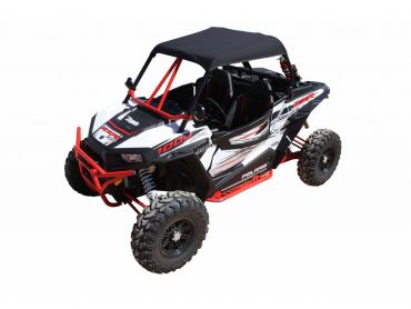 DRAGONFIRE Techo de lona Negro Polaris RZR1000 XP