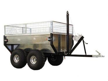 Remolque basculante con capacidad de 1000 kg