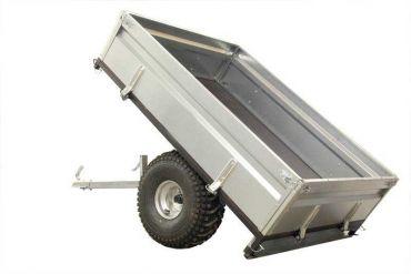 Trailer de madera quad/ATV - 500 kg de capacidad
