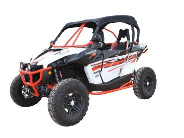 DRAGONFIRE Techo de lona Negro Can-Am Maverick X DS
