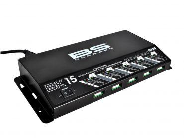 Banco cargador de baterías 5 canales