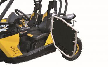 Juego de paneles laterales A.R.T SSV bastidor de aluminio / panel negro PHD Can Am Maverick 1000