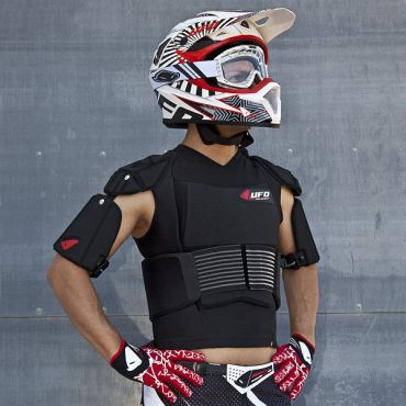Chaleco Cyborg UFO con cinturón elástico
