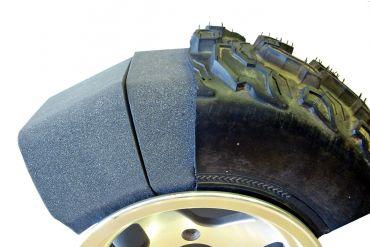 Defensor de neumáticos planos ATV - UTV
