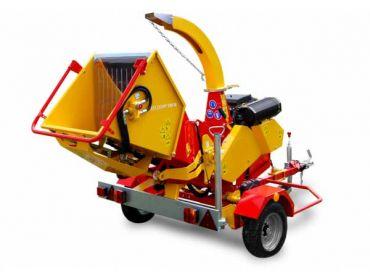Triturador de madera XYLOCHIP 175 M - Motor 51 HP Lombardini Diesel incorporado