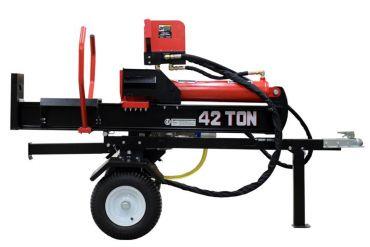 Separador de troncos hidráulico con motor Briggs & Stratton de 14 hp