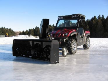 """Soplador de nieve para quad, 66"""" (167 CM) 22HP HONDA ENGINE"""