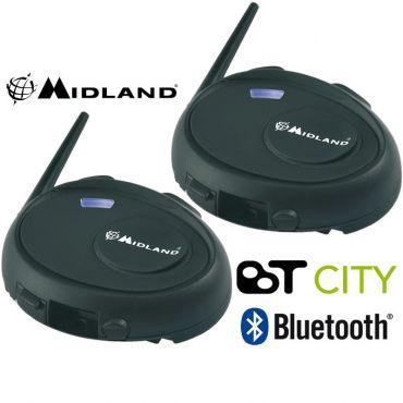 Midland BT CITY TWIN INTERCOM EQUIPO DE BLUETOOTH