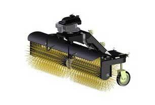 Limpiador de calle Barredor orientable para ATV - UTV