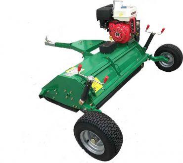ATV 120 Segadora Acondicionadora + tapa superior abrible