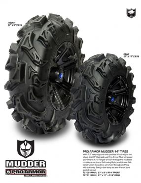 Pro Armor -  NEUMÁTICO TRASERO MUDDER 27X11-14