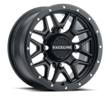 Raceline - SIMULATED BEADLOCK KRANK 14X7 4/137 Llanta de ATV