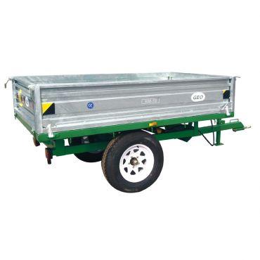 Trailer volquete hidráulico - 1500kg capacidad