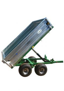 Trailer Volquete Hidráulico - 2500kg capacidad