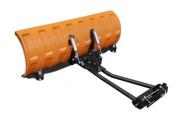 """Arado de nieve 52"""" (132 cm) con adaptadores"""