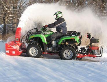 Soplador de nieve para Quad, con motor Briggs & Stratton de 19 CV