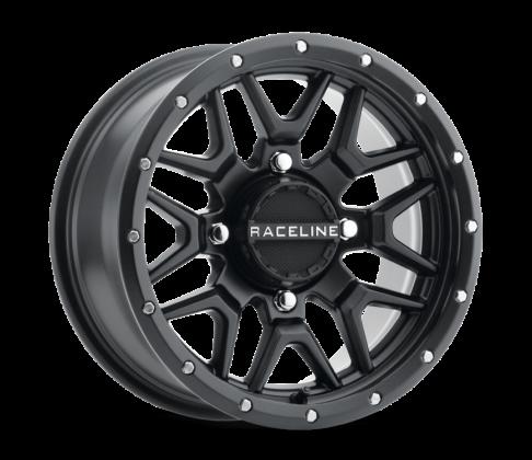 Raceline - SIMULATED BEADLOCK KRANK 14X7 4/156 Llanta de BRONCE ATV